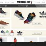תכנון אתר אינטרנט, Metro City, חנות ecommerce