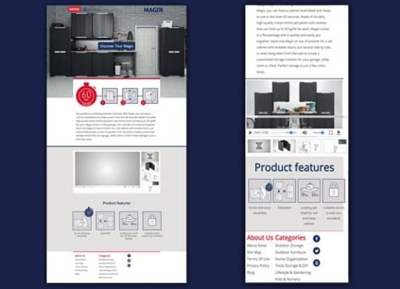 פיתוח מיניסייט, כתר מייג'יק, מוצרי פלסטיק, web3d,