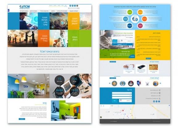 פיתוח אתר אינטרנט, tcm טכנולוגיות, web3d