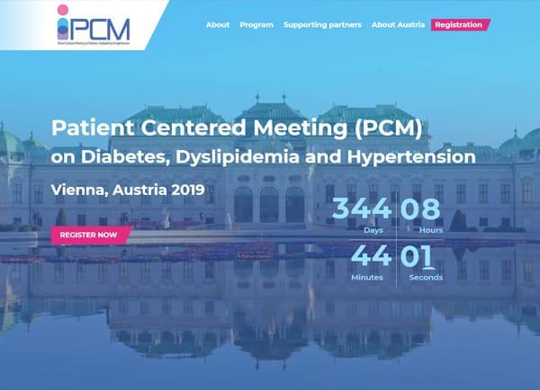 בניית אתר: כנס 2018 PCM תנומה ראשית של פרויקט