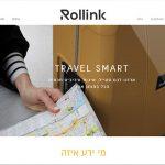 בניית אתר חנות, Rollink, תכנון אתר אינטרנט