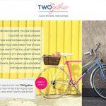 פיתוח דף נחיתה, Twogether, אתר הכרויות, web3d