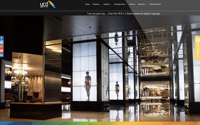 עיצוב ובניית אתר: YCD Multimedia תנומה ראשית של פרויקט
