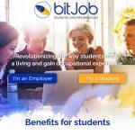 עיצוב אתר, לוגו, bitjob, מטבע וירטואלי