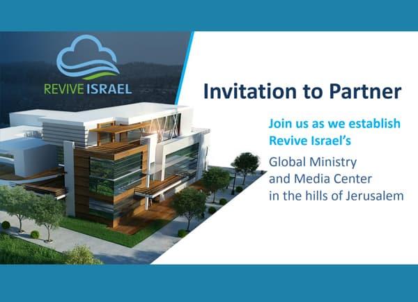 מצגת עסקית revive israel, עיצוב
