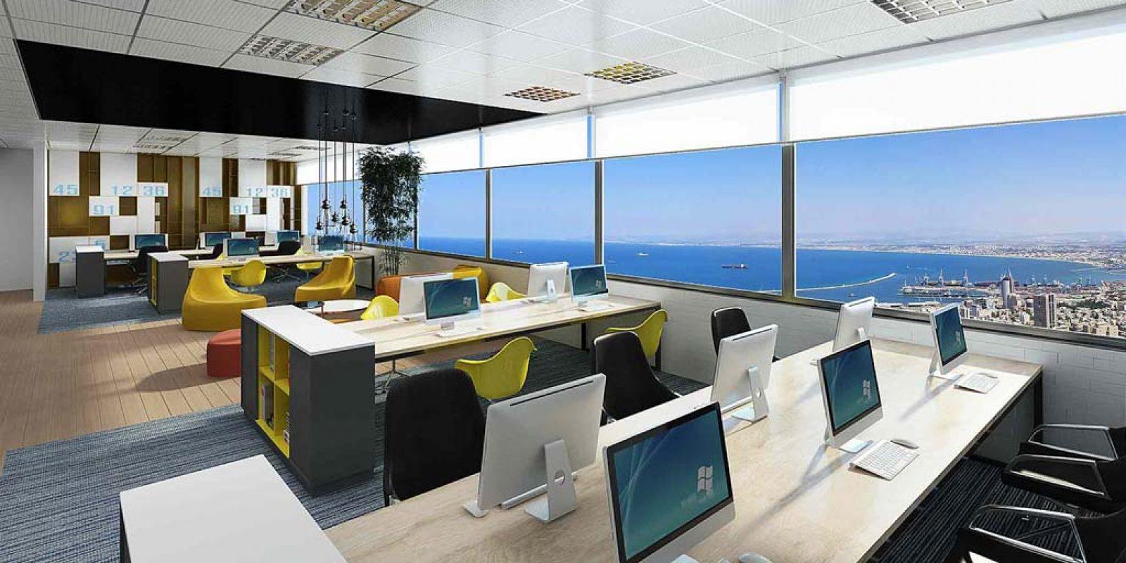 עיצוב משרדים לחברת RedWare