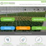 GREENSHPON עמוד הבית מוקאפ לפטופ, בניית אתר אינטרנט, עיצוב אתר אינטרנט