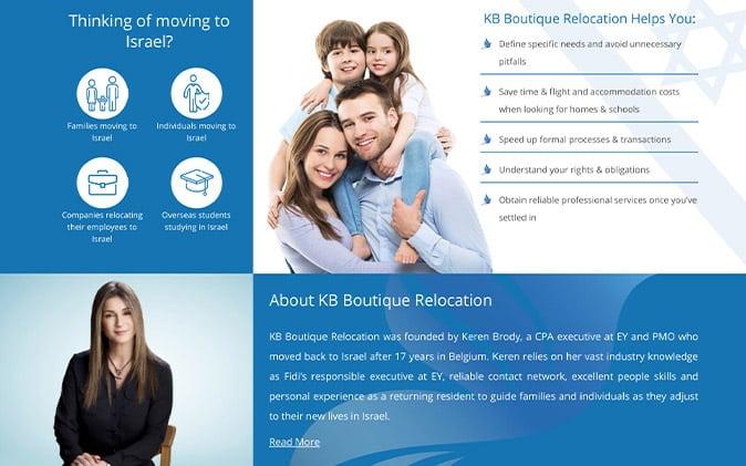 פיתוח מיניסייט: KB Relocation תנומה ראשית של פרויקט
