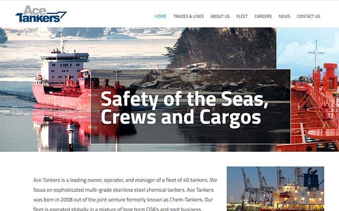 פיתוח אתר: Ace Tankers תנומה ראשית של פרויקט