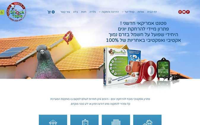 הקמת חנות וירטואלית: שוק טייפ תנומה ראשית של פרויקט