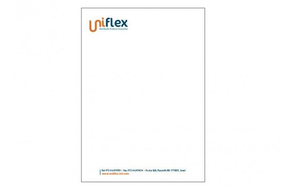 עיצוב ניירת יוניפלקס