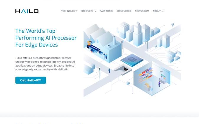 אתר תדמית: AI Hailo תנומה ראשית של פרויקט