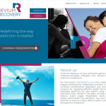 Revium Recovery הקמת אתר תדמיתי רפואי