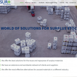 Sur+ פיתוח אתר תדמית