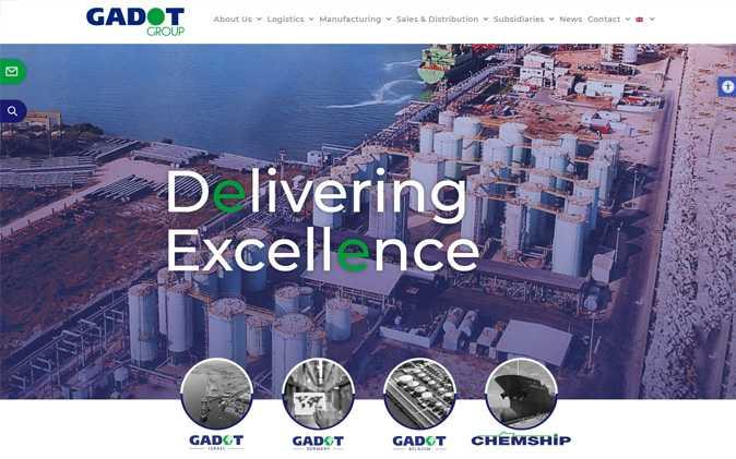 הקמת אתר אינטרנט תדמיתי: Gadot תנומה ראשית של פרויקט