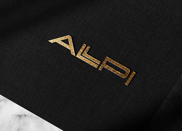 מיתוג עסקי עיצוב ניירת ALPI