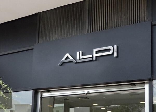 מיתוג עסקי עיצוב שלטי חוץ ALPI