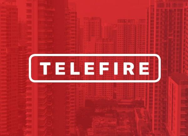 Telefire מיתוג עסקי עיצוב לוגו