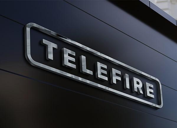 Telefire מיתוג עסקי עיצוב שלטי חוץ